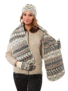33a85cd124b Icelandic Wool Hat Scarf Mittens Set Ladies Designer Freyja Canada Price     189.00 http