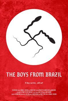Poster for The Boys from Brazil by Scott Saslow. #theboysfrombrazil #franklinjschaffner #gregorypeck #laurenceolivier #jamesmason #lillipalmer #utahagen #denholmelliot #steveguttenberg #drama #thriller #nazi #josefmengele #adolphhitler #70s #iralevin #jerrygoldsmith #movieposter #graphicdesign #posterdesign #fanart #alternativefilmposter #alternativemovieposter #photoshop