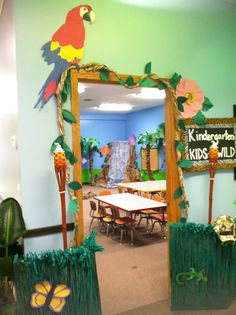 Map Off Journey VBS Decorating Ideas