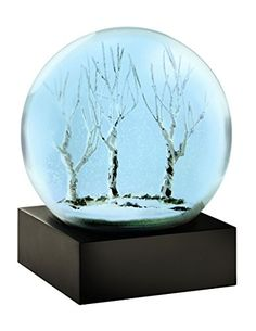 Blue Winter Snow Globe by CoolSnowGlobes