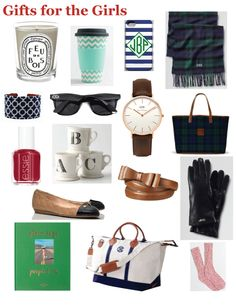 Preppy Holiday Gift Guide for Girls
