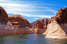 Mountain, Lake Powell Page Arizona Water Reservoir L Lake Powell, Page Arizona, Monitor, Colorado River, Plaza, Belle Photo, Cool Places To Visit, New Art, Landscape Photography
