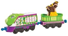 Chuggington StackTrack Camouflage Koko with Monkey Car