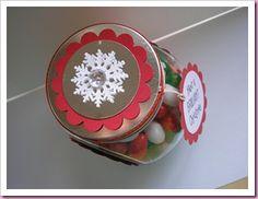 Jingle Beans Christmas Sweet Jar