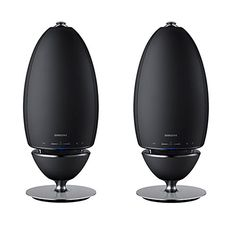 Samsung 2Pack Radiant 360 R7 WiFi Bluetooth Wireless MultiRoom 2Way Streaming Speakers >>> Click on the image for additional details.