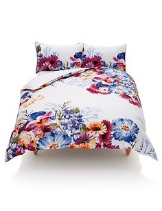 180 Thread Count Overscale Floral Bedset Home