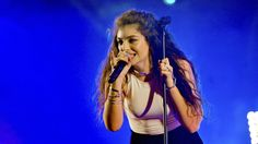 Lorde's live Radio 1's Big Weekend 2017 set was axed from radio and TV today after she swore on the main stage.