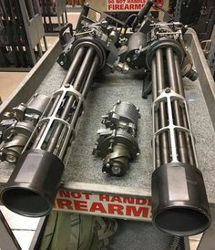 Zombie Weapons that People Really Obsessed With photos) Zombie Weapons, Weapons Guns, Guns And Ammo, Big Guns, Cool Guns, Weapon Storage, Custom Guns, Rifles, Fantasy Weapons