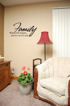 Family wall decal Bible verse decal Laundry by InspirationalDecals, $15.99