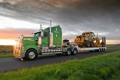 Kenworth T908.. I love these trucks. Such an impressive looking rig!!