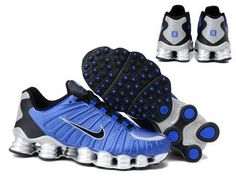 d3e0094ff71577 Shox Nike Shox TLX Royal Blue Silver Black  Nike Shox TLX - Nike Shox TLX  Royal Blue Silver Black is really a nice pair of running shoes that you  should not ...