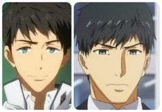 They do look a like from Free!! And Tokyo Ghoul characters