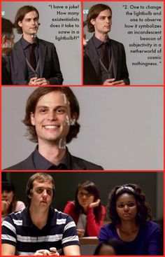 14 Times Dr. Reid Was Adorably Dorky: Brains AND Beauty - Criminal Minds - CBS.com