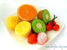 Felt Fruit!
