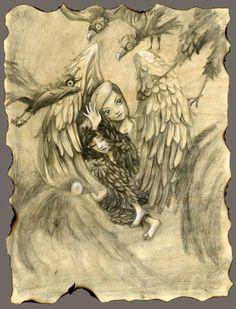 """""""Metamorphose En Bord De Ciel"""" Benjamin Lacombe"""
