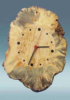 Wooden Clock Modern Wall Clock Wood Wall Clock Handmade