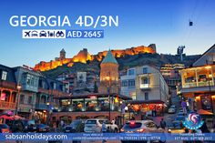 This summer enjoy your vacation at #Georgia the most fascinating holiday destination at affordable cost. Limited seats available! Book Now