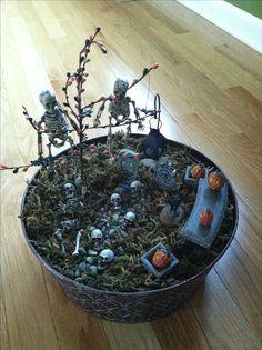 My Halloween Fairy Garden