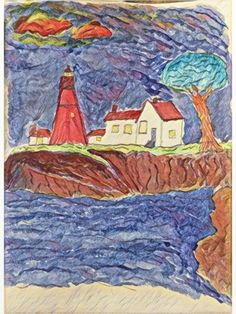 iPainting Lighthouse Island