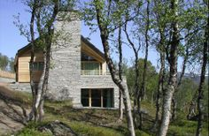 Winter Mountain Lodge  in Oppdal, Norway by Jarmund/Vigsnæs Architects
