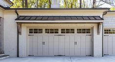 When a home is designed and built with a garage to accommodate more than one vehicle, two single garage doors OR one double garage door might be used. In the case of a three car garage, three single doors OR one double and one single may be used. Here's what you need to know...