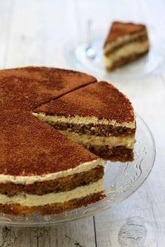 Tiramisu cake- Gâteau Tiramisu Photographs and recipe protected by a Copyright -… - Bolo Tiramisu, Tiramisu Dessert, Low Calorie Desserts, Köstliche Desserts, Health Desserts, Sweet Recipes, Cake Recipes, Dessert Recipes, Breakfast Recipes