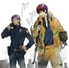 Aomine and kagami