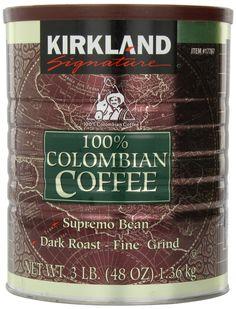KIRKLAND COFFEE 096619177677