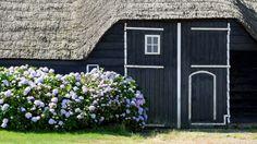 Een detail van de mooie boerderij   Zeeland op foto
