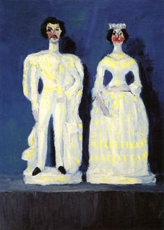 Still Life with Mask (also known as Victoria and Albert). Emil Nolde, 1913