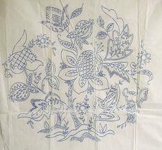 Jacobean embroidery