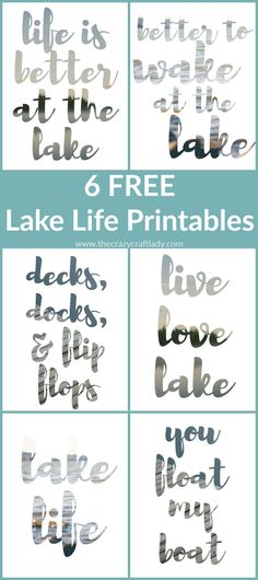 Summer Captions - and 12 FREE Printables