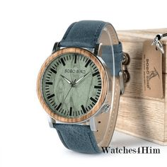 Cool Watches: Cheap Price BOBO BIRD Watch Men Wooden Metal Quartz Watches Special Design Men's Wristwatches in Wooden Box Timepieces relogio masculino Cool Watches, Watches For Men, Big Ben, Wooden Watch, Leather Watch Bands, Fashion Watches, Wooden Boxes, Like4like, Metal