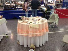Gulf coast gem and mineral society breakfast table display-7