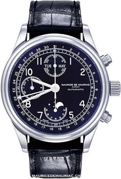 The Moon Collection from Swiss Watchmaker, Maurice de Mauriac.