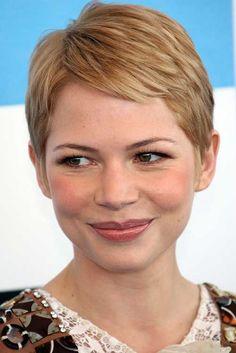 15 Super Michelle Williams Pixie Haircuts | http://www.short-haircut.com/15-super-michelle-williams-pixie-haircuts.html