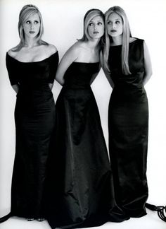 The oh-so-well-married Miller Sisters: Pia's husband is Christopher Getty, a grandson of J. Paul Getty, since 1992; Marie-Chantal married Crown Prince Pavlos, eldest son of Greece's exiled King Constantine and Queen Anne-Marie, while Alexandra wed Alexandre von Fürstenberg, son of Prince Egon and designer Diane. ALWAYS IN VOGUE