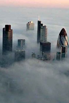 London in the fog