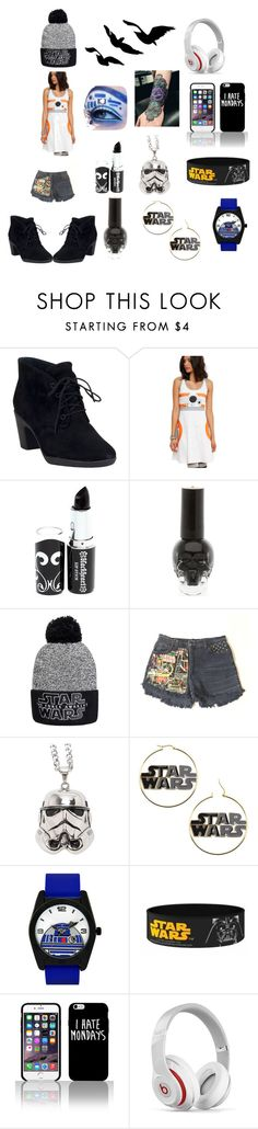 """""""star wars inspired outfit"""" by daviswolf on Polyvore featuring beauty, Clarks, Beats by Dr. Dre and starwars"""