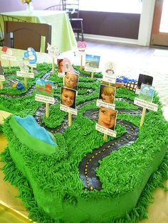 Road of Life Journey Cake by SAS Mod Collection, via Flickr