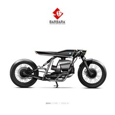 BMW E-TYPE - STEALTH - concept by Barbara Custom Motorcycles