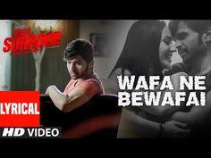 WAFA NE BEWAFAI Lyrical VIDEO Song   TERAA SURROOR   Himesh Reshammiya, Farah Karimaee   T-Series - YouTube