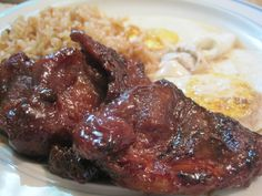 (Updated 1/3/2010) We love this homemade tocino recipe and so have many of our blogging friends who have tried it. There are many different versions of making Filipino tocino out there, but very fe…