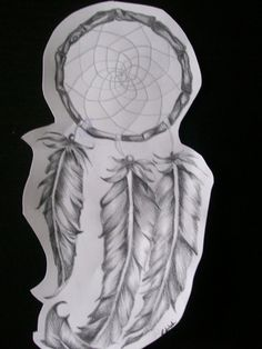 dream catcher by ~Emilyylime on deviantART love the feathers ..... New tattoo want!!
