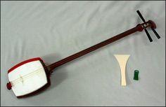 Gallery For > Japanese Instruments Shamisen Transverse Flute, Claw Gloves, Japan Art, Online Images, Music Stuff, Musical Instruments, Art Reference, Samurai, Musicals