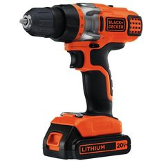 Black and Decker LDX220C 20V MAX Lithium 2 Speed Drill/Driver ** To view further, visit now : home diy improvement