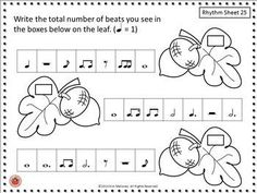 Thanksgiving music lessons    |  Rhythm: Thanksgiving Rhythm Sheets - b/w by MusicTeacherResources | ♫ CLICK through to preview or save for later!  ♫    #musiceducation    #musiced