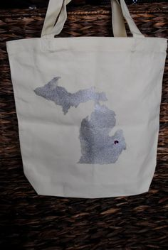 MICHIGAN! Great Beach bag idea