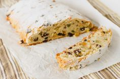 Strawberry Crumble: Stollen