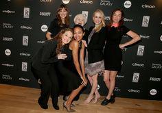 Melissa Leo, Jennifer Garner, Zoe Saldana, June Squibb, Sarah Paulson, and Julianne Nicholson attend Variety Awards Studio